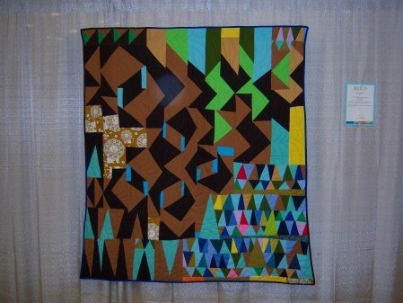 Quiltcon 2015 - Improvisation Flying Geese by Sherri Lynn Wood Individual MQG
