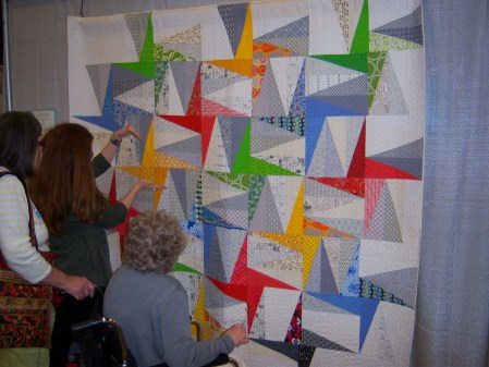 Quiltcon 2015 Use Of Negative Space -