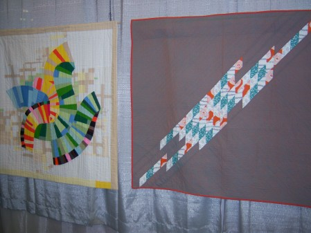 Quiltcon 2015 Use Of Negative Space - Redirected by Hollie Labosky Los Angeles MQG