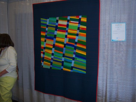 Quiltcon 2015 Use Of Negative Space - Lowcountry Sunset by Kimberely McPeske Charleston MQG