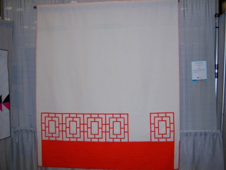 Quiltcon 2015 Use Of Negative Space - Peek by Melanie Tucizon North Jersey MQG