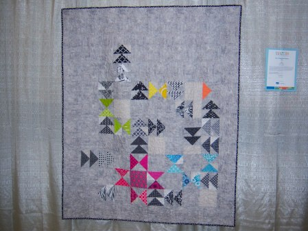 Quiltcon 2015 Use Of Negative Space - Star'd by Kristy Daum St Louis MQG